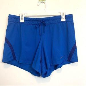 Nike Dri fit Royal Blue running Athletics short